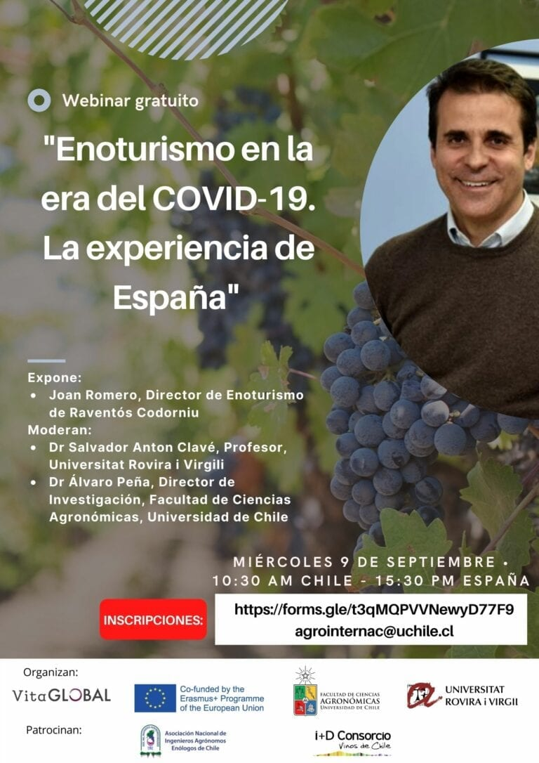 VITA GLOBAL Webinar: Wine tourism in the era of COVID-19. The experience of Spain